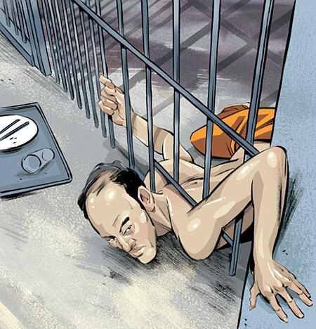 Màn vượt ngục như ảo thuật của tên tội phạm Hàn Quốc khi chui qua khe cửa 15cm 2