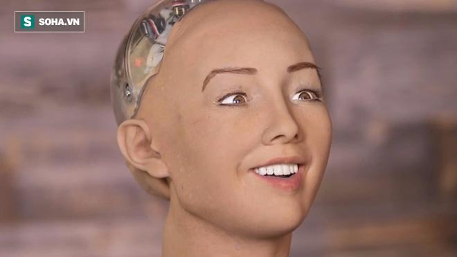 Sophia: Cô nàng robot từng tuyên bố hủy diệt con người, lần đầu nói