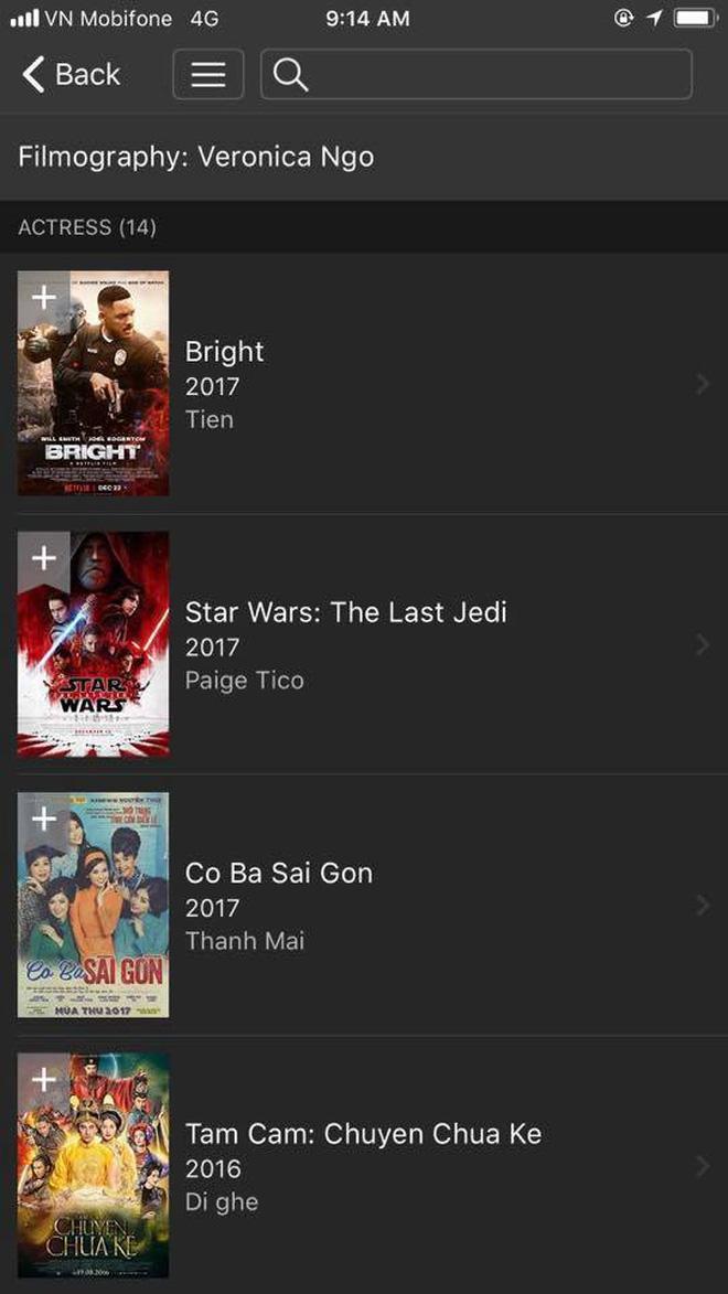 Ngô Thanh Vân vượt mặt Harley Quinn, lọt top 50 diễn viên được tìm kiếm trên IMDb 5