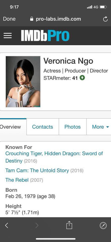 Ngô Thanh Vân vượt mặt Harley Quinn, lọt top 50 diễn viên được tìm kiếm trên IMDb 4