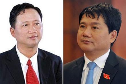 Hình ảnh 3 người giữ quyền công tố tại phiên tòa xét xử ông Đinh La Thăng số 1