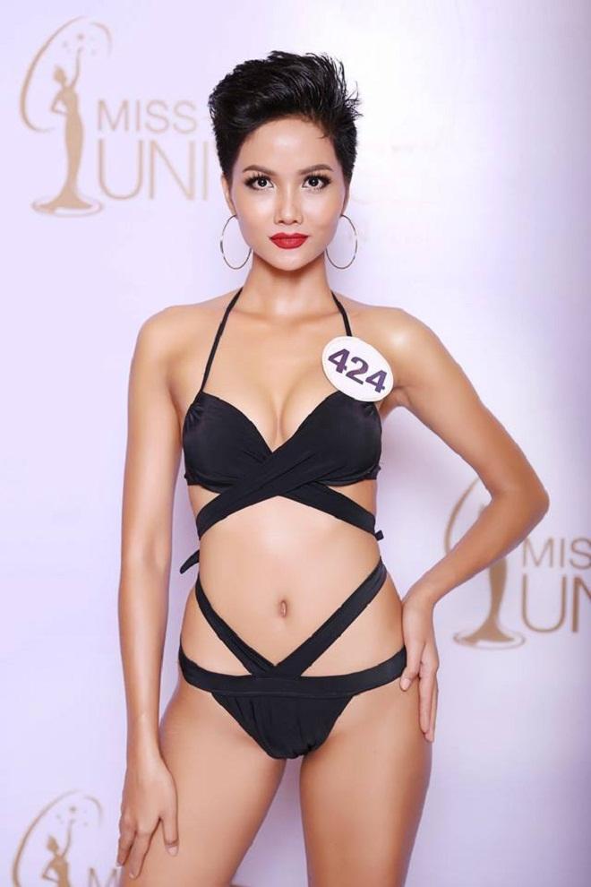 Cận cảnh mặt mộc của tân Hoa hậu Hoàn vũ 2017 H'Hen Niê 2