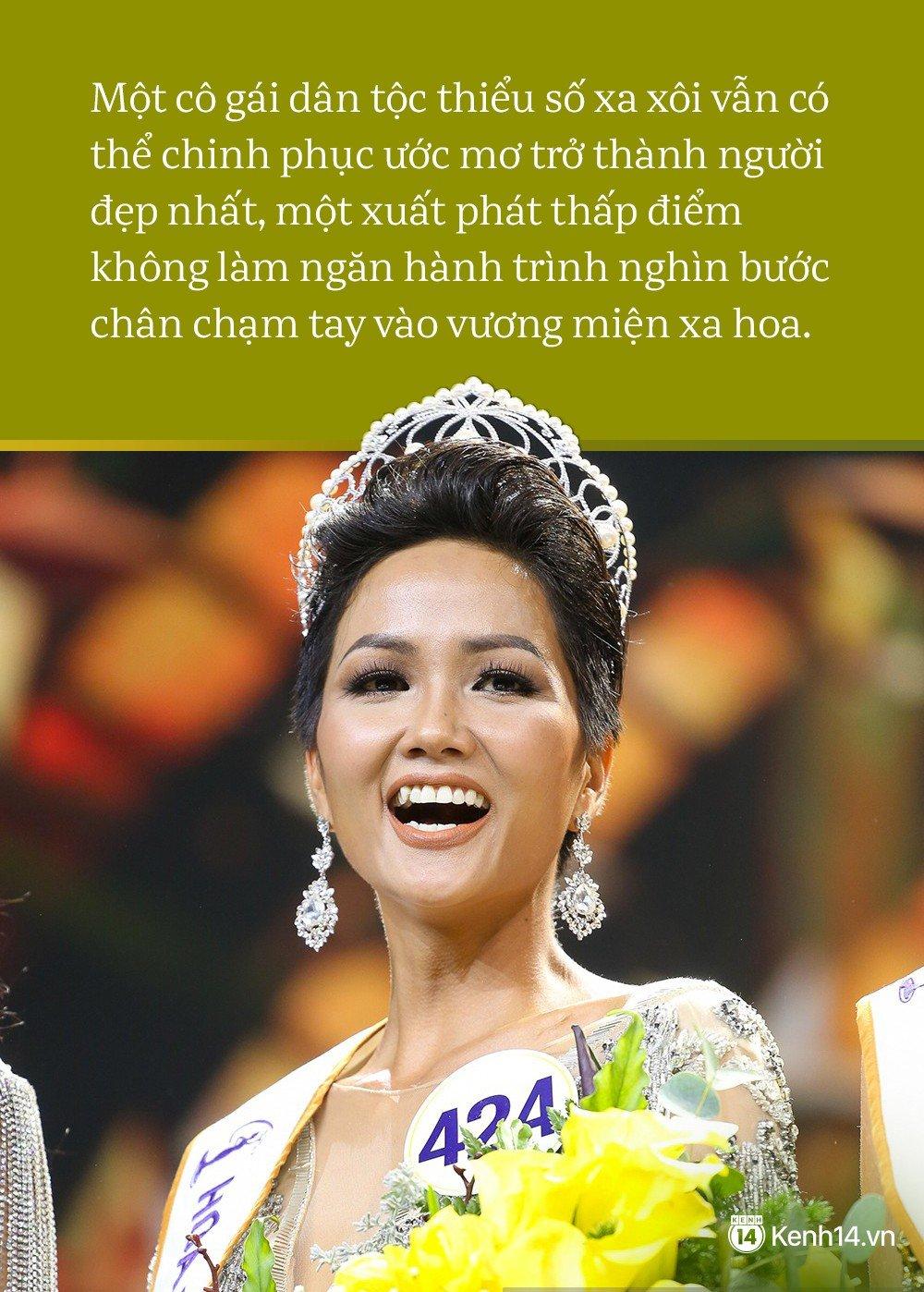 H'Hen Niê bị miệt thị nhan sắc sau khi đăng quang: Là hoa hậu thì phải mặc nhiên chấp nhận tổn thương? 4