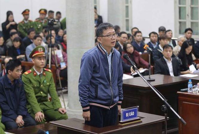 Ông Trịnh Xuân Thanh phủ nhận việc tham ô 4 tỷ đồng để tiêu Tết 1