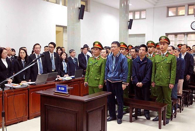 Các bị cáo khai rành rọt những khoản tiền tham ô được Trịnh Xuân Thanh chỉ đạo 1