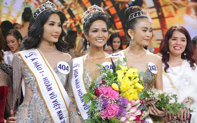 Tân Hoa hậu Hoàn vũ Việt Nam H'Hen Niê đột xuất được khen thưởng 1