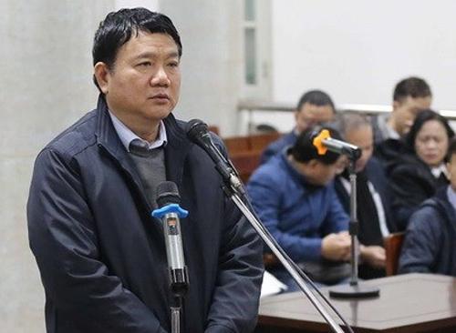Ông Đinh La Thăng xin nhận trách nhiệm thay cấp dưới 1