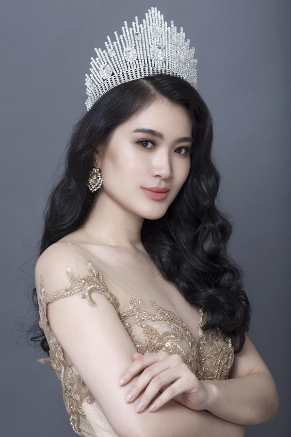 Hình ảnh Hoa hậu Vũ Bình Minh khoe sắc vóc vạn người mê trong bộ ảnh mới số 5