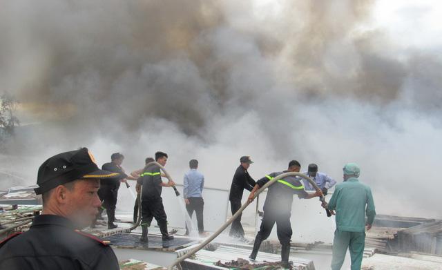 Cháy lớn thiêu rụi hàng nghìn tấm pin tại dự án nhiệt điện mặt trời Cam Ranh 1