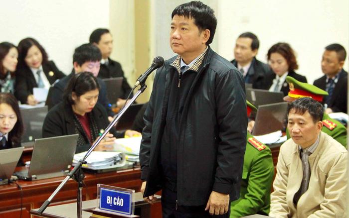 Hình ảnh Ông Đinh La Thăng bị đề nghị mức án 14-15 năm tù, Trịnh Xuân Thanh án chung thân số 1