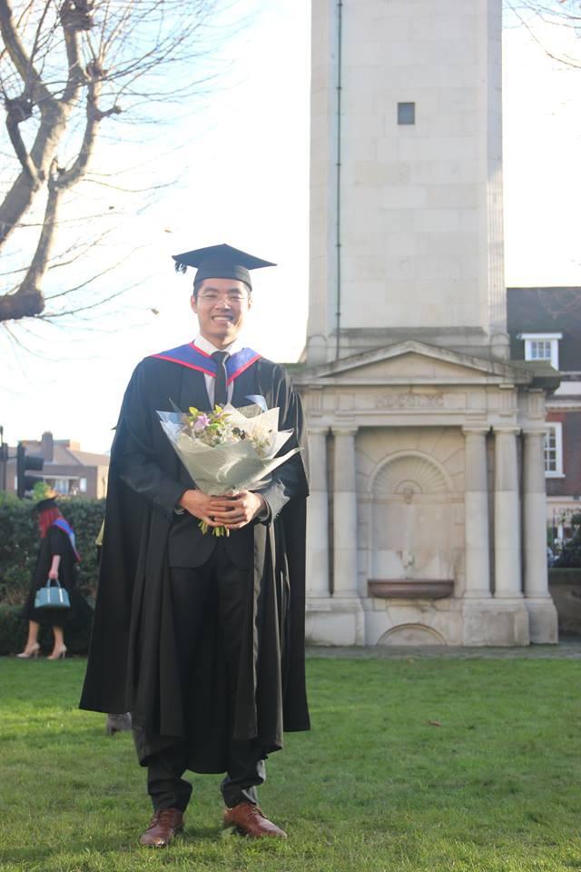 Nam sinh Việt duy nhất nhận học bổng tiến sĩ toàn phần ĐH hàng đầu nước Anh - Ảnh 2.