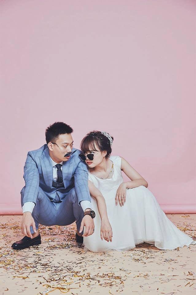 Hình ảnh Bố mẹ Nhật Anh Trắng bắn rap cực chất trong đám cưới của con trai số 1