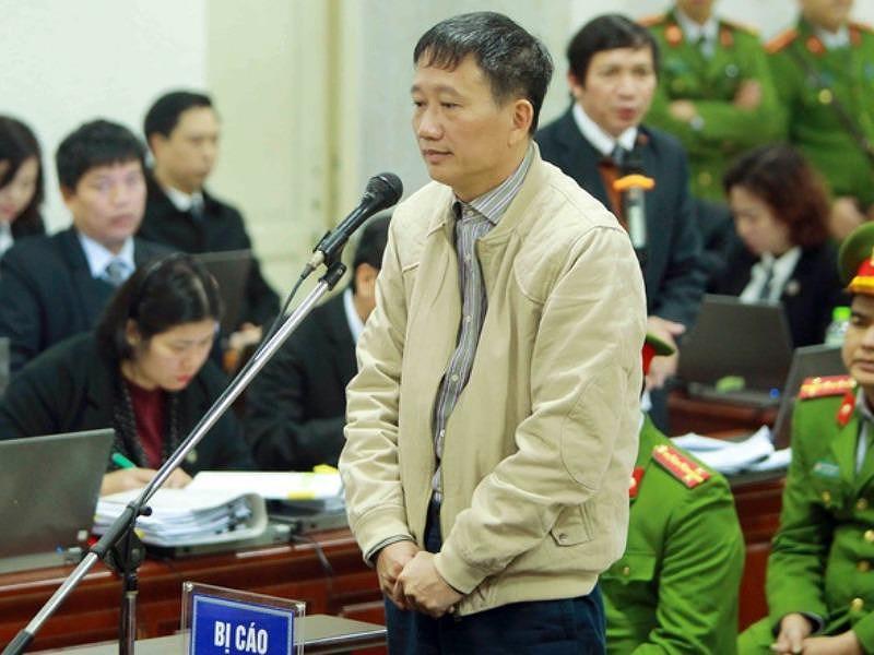 Hình ảnh Luật sư dẫn lại trường hợp hoa hậu Phương Nga để bào chữa cho Trịnh Xuân Thanh số 1
