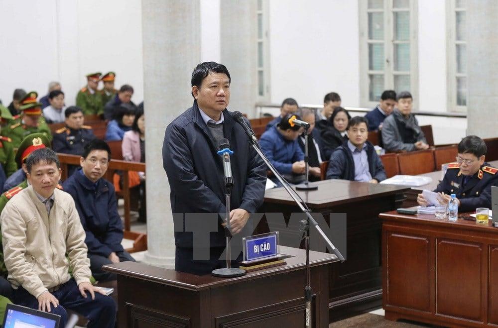 Luật sư 'đòi' công tố viên tranh luận đến cùng trong vụ xử Đinh La Thăng và đồng phạm 1