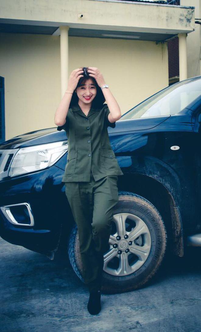Hình ảnh Nữ công an viên Đà Nẵng bất ngờ nổi tiếng vì xinh như hot girl số 3