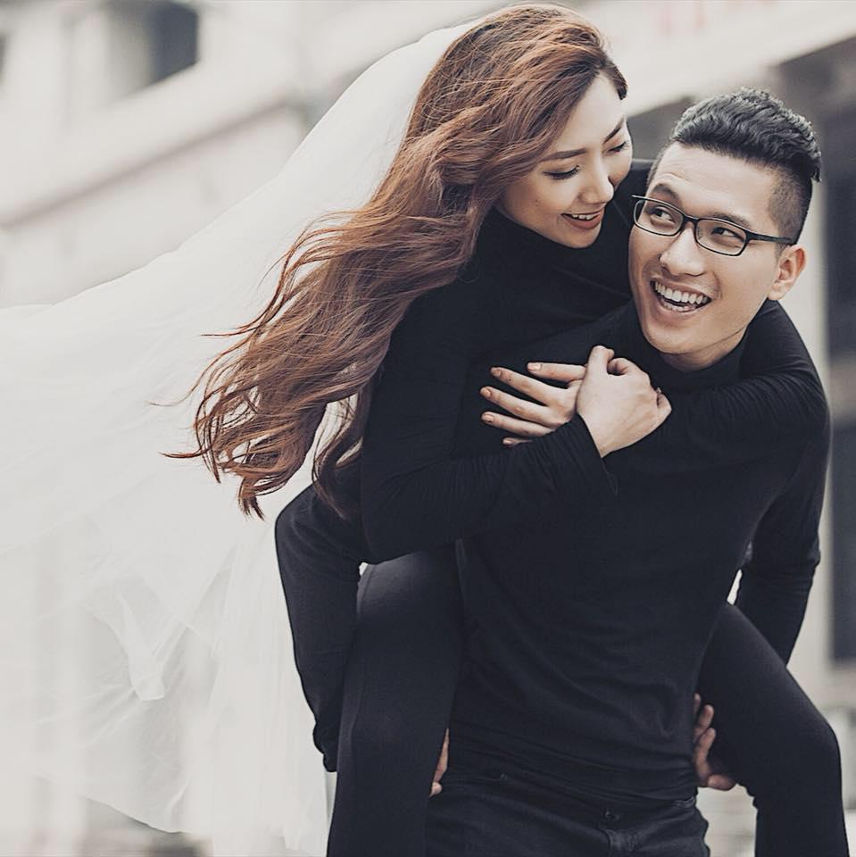 Hình ảnh Em gái Trấn Thành lên xe hoa cùng với bạn trai ngoại quốc số 2
