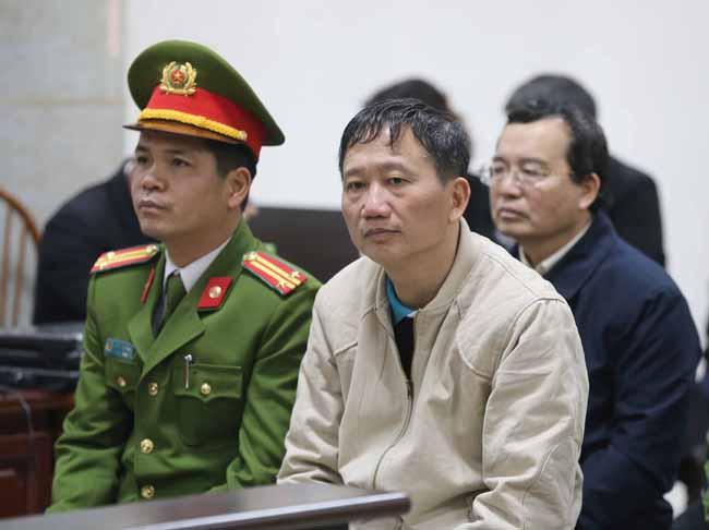 Hình ảnh Trịnh Xuân Thanh khóc, nói có