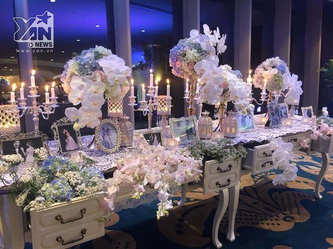 Không gian đám cưới lung linh của em gái Trấn Thành và bạn trai người Hồng Kông - Ảnh 5.