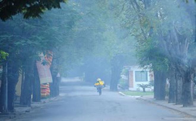 Hình ảnh Thời tiết ngày 14/1: Toàn miền Bắc bị sương mù dày đặc bao trùm số 1