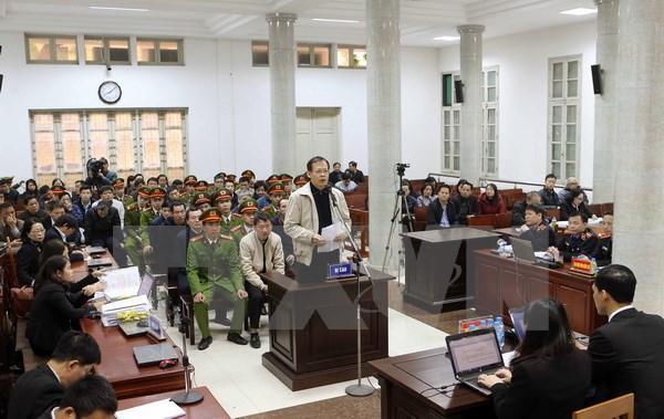 Hình ảnh Xét xử Trịnh Xuân Thanh: Các bị cáo xin giảm nhẹ tội cho nhau số 1