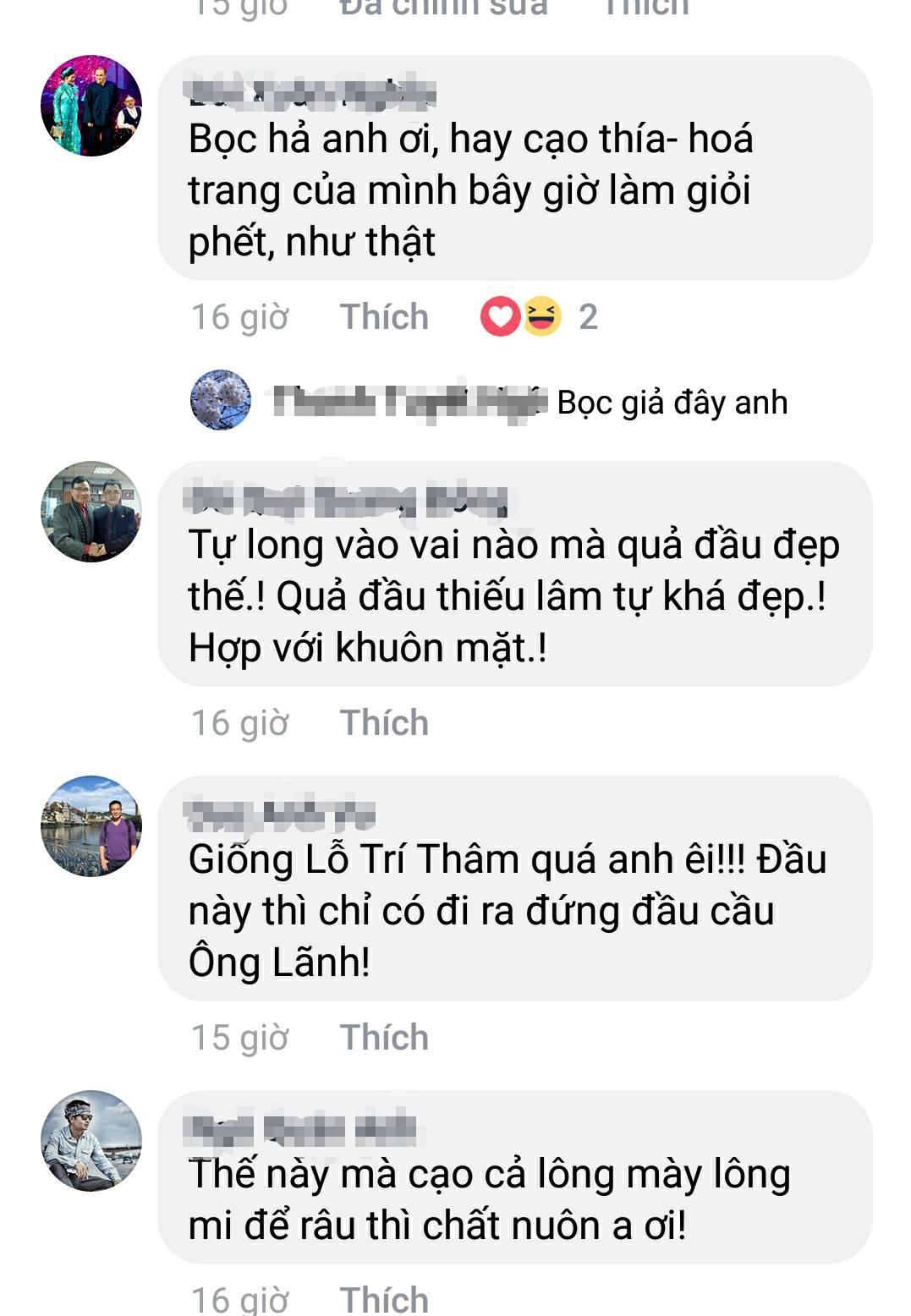 Tự Long 'gây sốt' với quả đầu 'trọc lốc' trước ngày quay Táo Quân 2018 2