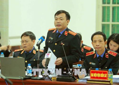 Hình ảnh Hình ảnh phiên tòa xét xử Trịnh Xuân Thanh và đồng phạm 15/1 số 5