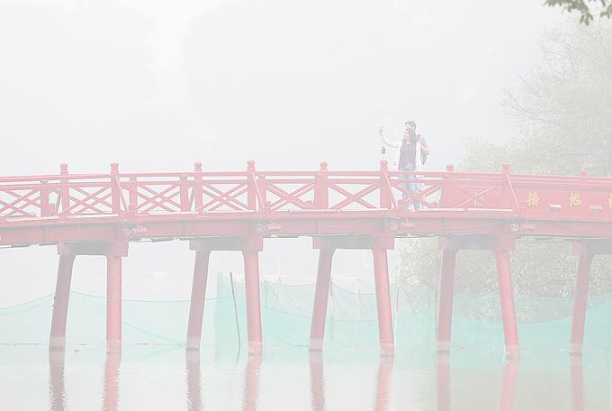 Hình ảnh Thời tiết 17/1: Hà Nội tiếp tục có sương mù, mưa rải rác vào sáng sớm số 1