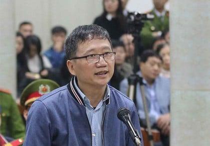 Vụ Đinh La Thăng: Luật sư nói chưa thể khẳng định trong túi chuyển cho Trịnh Xuân Thanh có tiền 1