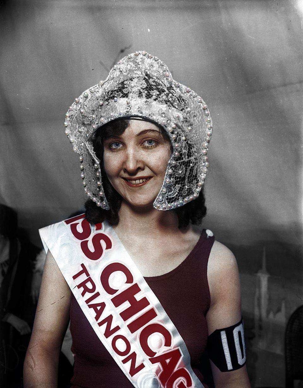 Vẻ đẹp của những hoa hậu Mỹ từ cách đây cả gần 100 năm