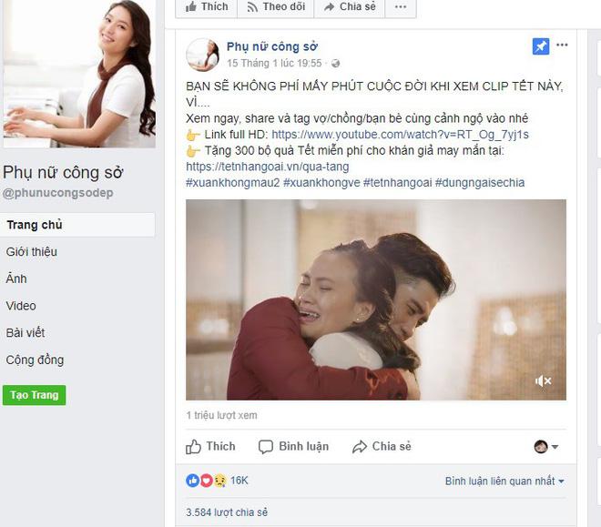 Đoạn clip hút triệu lượt xem sau 1 ngày đăng tải khiến chị em phụ nữ bật khóc 1