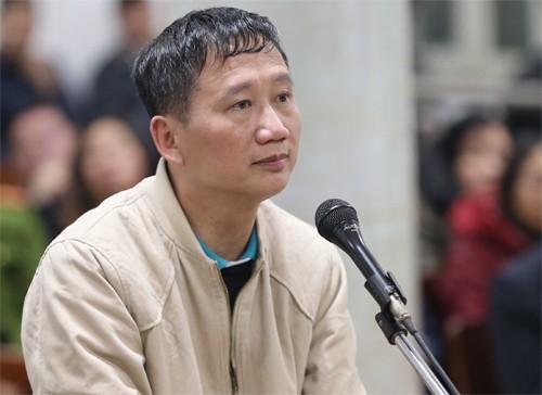 Hình ảnh Vụ Đinh La Thăng: Trịnh Xuân Thanh dẫn lời Tổng Bí thư khi bào chữa số 1