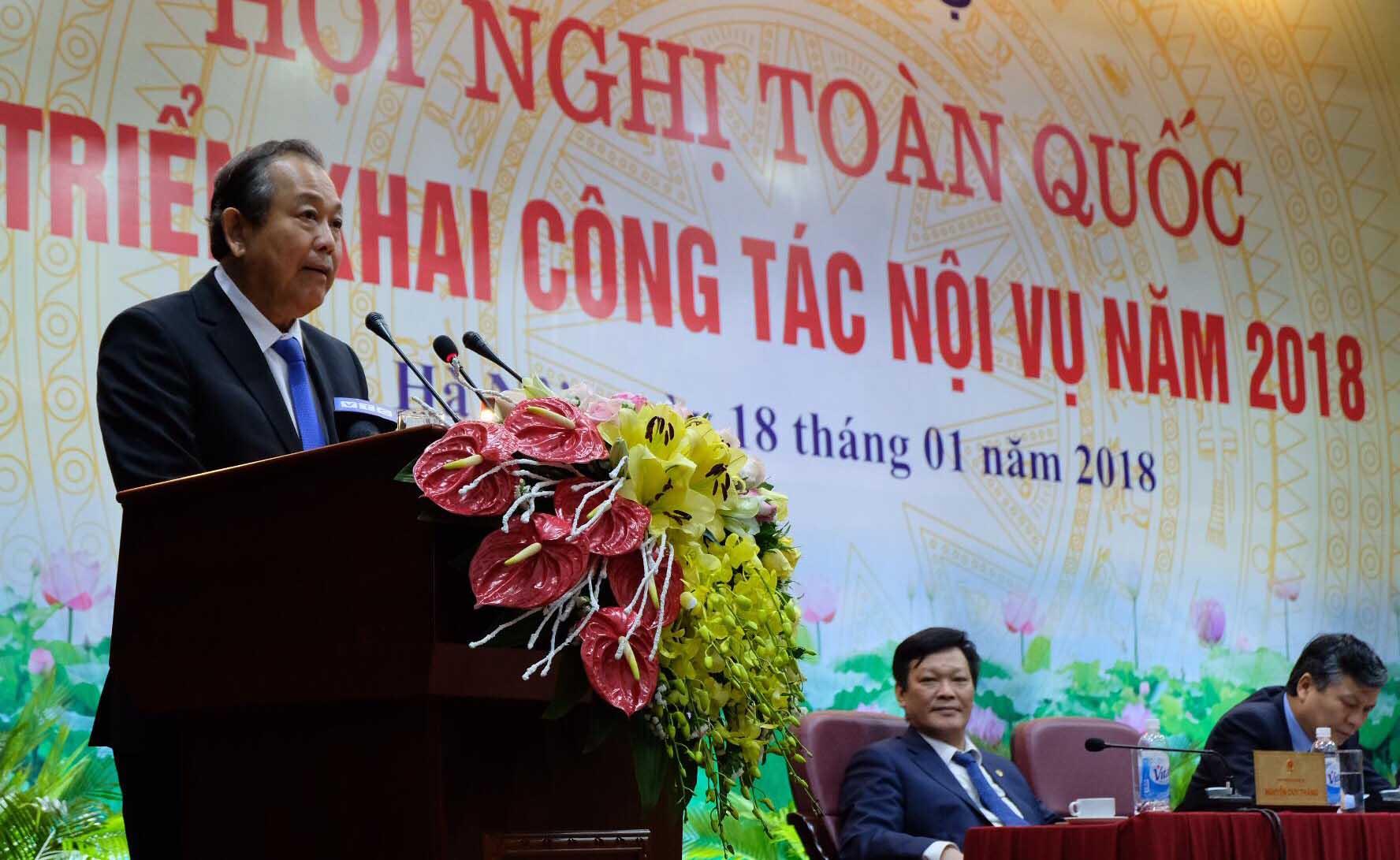 Phó Thủ tướng: Tăng cường thanh tra việc bổ nhiệm