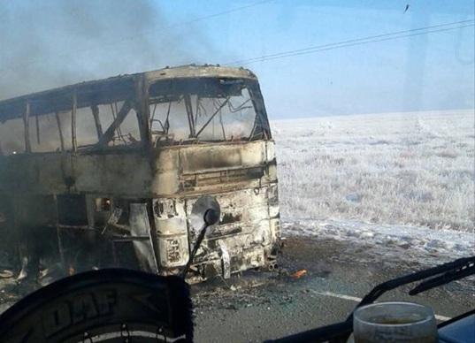 TNGT thảm khốc: Cháy xe bus khiến 52 người thiệt mạng 1