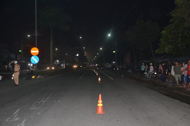 Xe đặc chủng của CSGT tông chết người khi truy đuổi xe vi phạm 1