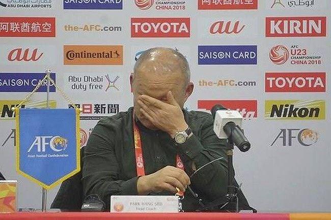 Tiết lộ lý do HLV Park Hang Seo cấm các cầu thủ U23 Việt Nam khóc 1
