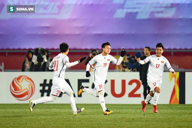 Lịch sử là đây!!  U23 Việt Nam hiên ngang hạ gục Qatar, vào chung kết U23 châu Á 1