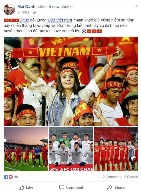 Người dân cả nước đồng loạt gửi lời chúc chiến thắng đến đội tuyển U23 Việt Nam trước thềm trận bán kết lịch sử với Qatar - Ảnh 2.