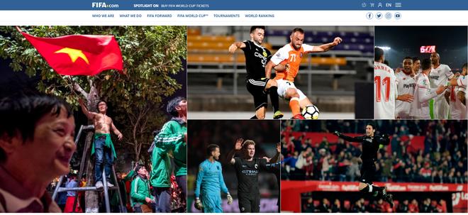 FIFA, AFC, báo châu Á đồng loạt đăng tin Việt Nam trắng đêm ăn mừng chiến tích 1