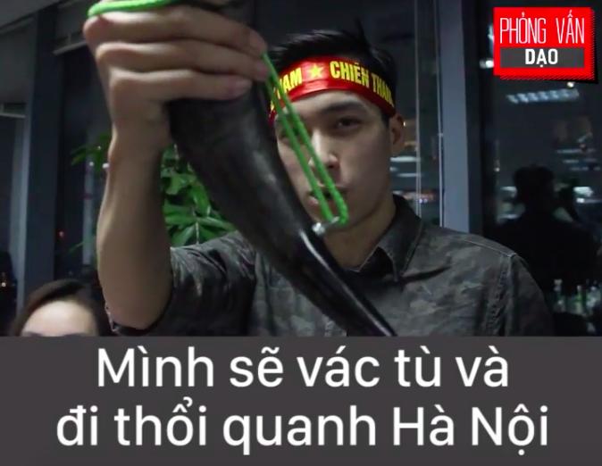 Phỏng vấn dạo: Bạn sẽ làm gì nếu Việt Nam vô địch U23 châu Á? 1