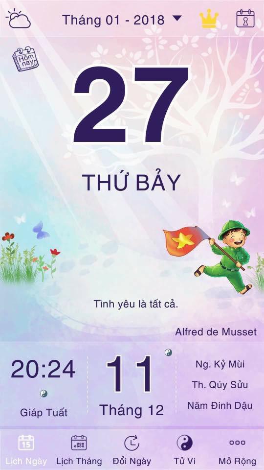 Sau quyển lịch tiên tri gây sốt, cộng đồng mạng thi nhau khoe ảnh lịch ngày 27/1 để tiên đoán kết quả cho U23 Việt Nam - Ảnh 3.