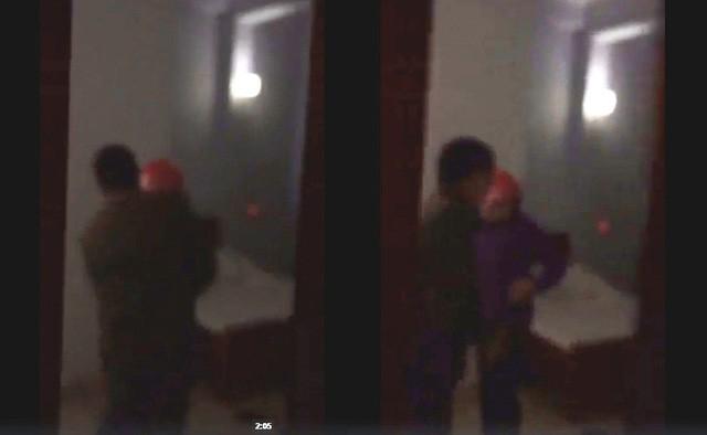 Chủ tịch xã bị tung clip bắt tại trận vào nhà nghỉ với nữ cán bộ  1