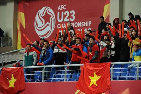 Bộ Ngoại giao đề nghị Trung Quốc đảm bảo an ninh cho CĐV sang cổ vũ U23 Việt Nam 1
