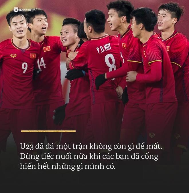 Không sao đâu U23 Việt Nam ơi, chúng ta đã chiến đấu như những người hùng đến tận phút cuối! 1