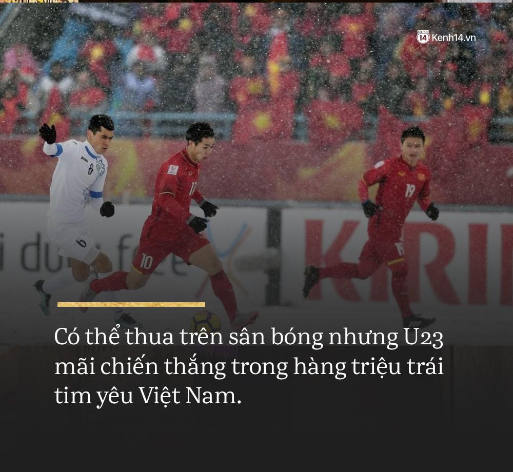 Không sao đâu U23 Việt Nam ơi, chúng ta đã chiến đấu như những người hùng đến tận phút cuối! 2