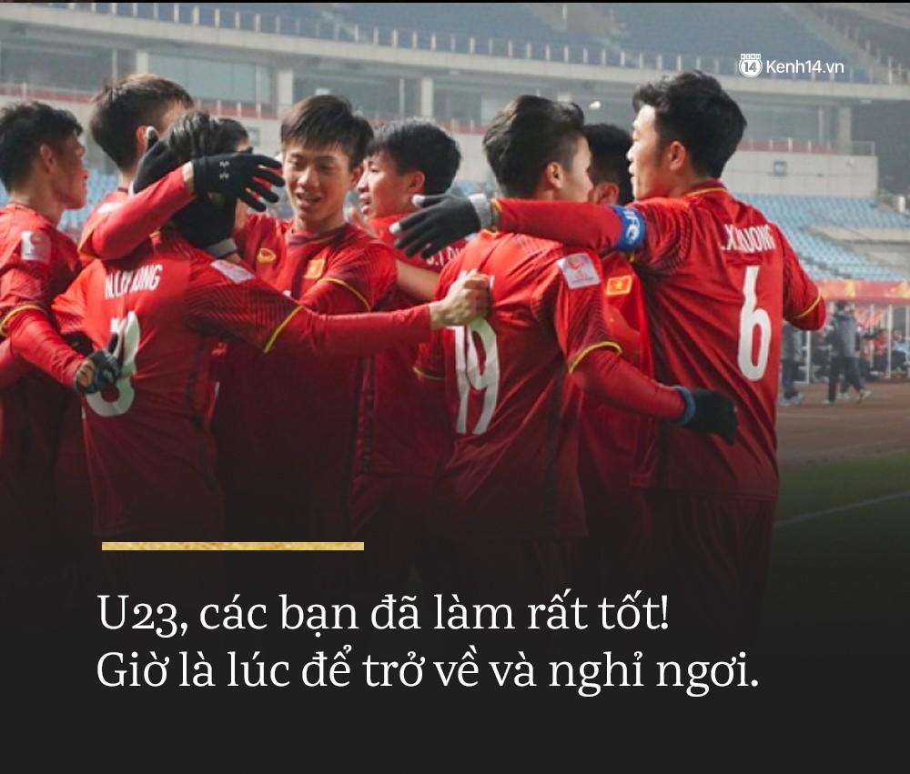 Không sao đâu U23 Việt Nam ơi, chúng ta đã chiến đấu như những người hùng đến tận phút cuối! 6