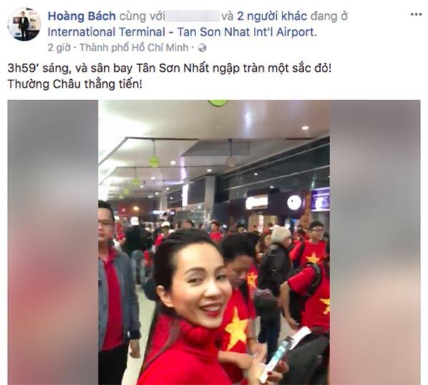 Sao Việt người bỏ show, người hào hứng sang Trung Quốc cổ vũ U23 Việt Nam 2