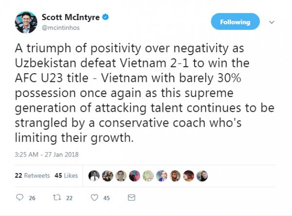 Xôn xao việc chuyên gia bóng đá châu Á
