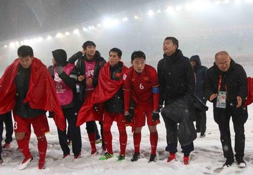 HLV Park Hang-seo rất tự hào về các học trò của mình 1