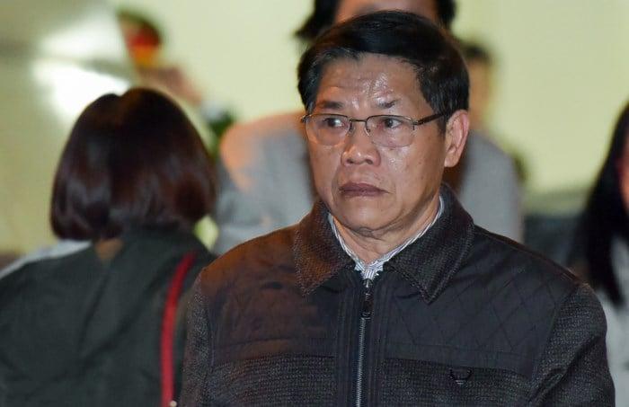 Hình ảnh Cựu Phó Chủ tịch PVC trong vụ án Đinh La Thăng làm đơn kháng cáo số 1