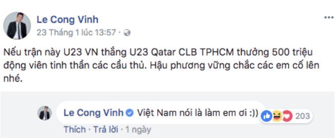 Mỹ nhân Việt đầu tiên khoe biên lai chuyển tiền tặng cho U23 Việt Nam 2